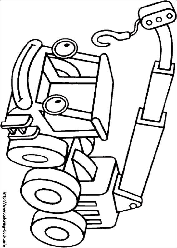 Bob The Builder Coloring Picture Coloring Books Coloring Pages Bob The Builder