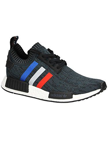 adidas nmd r1 primeknit schuhe core black core red footwe https