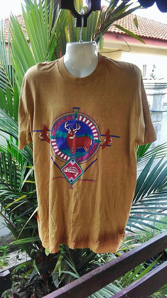 Vintage Clothing Gold Fruit Of The Loom Made In USA