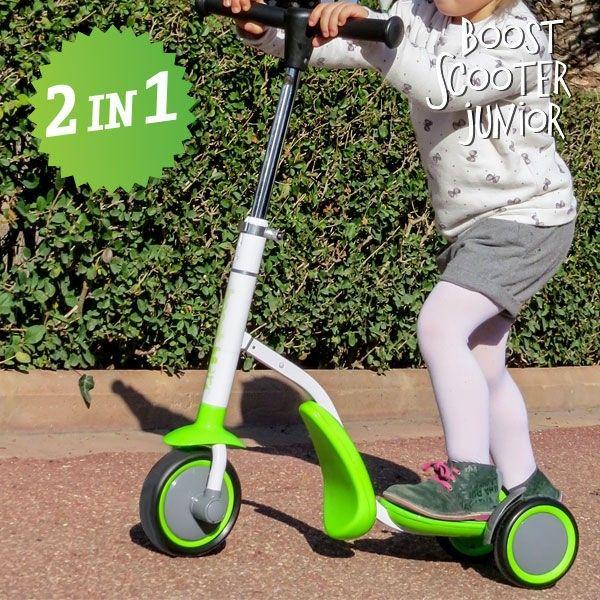 Scooter Junior 2 In 1 Roller Dreirad 3 Räder Kinder