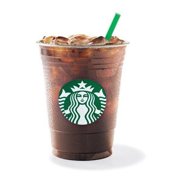 Iced Americano Liked On Polyvore Featuring Filler Free Starbucks Drink Iced Americano Iced Americano Starbucks