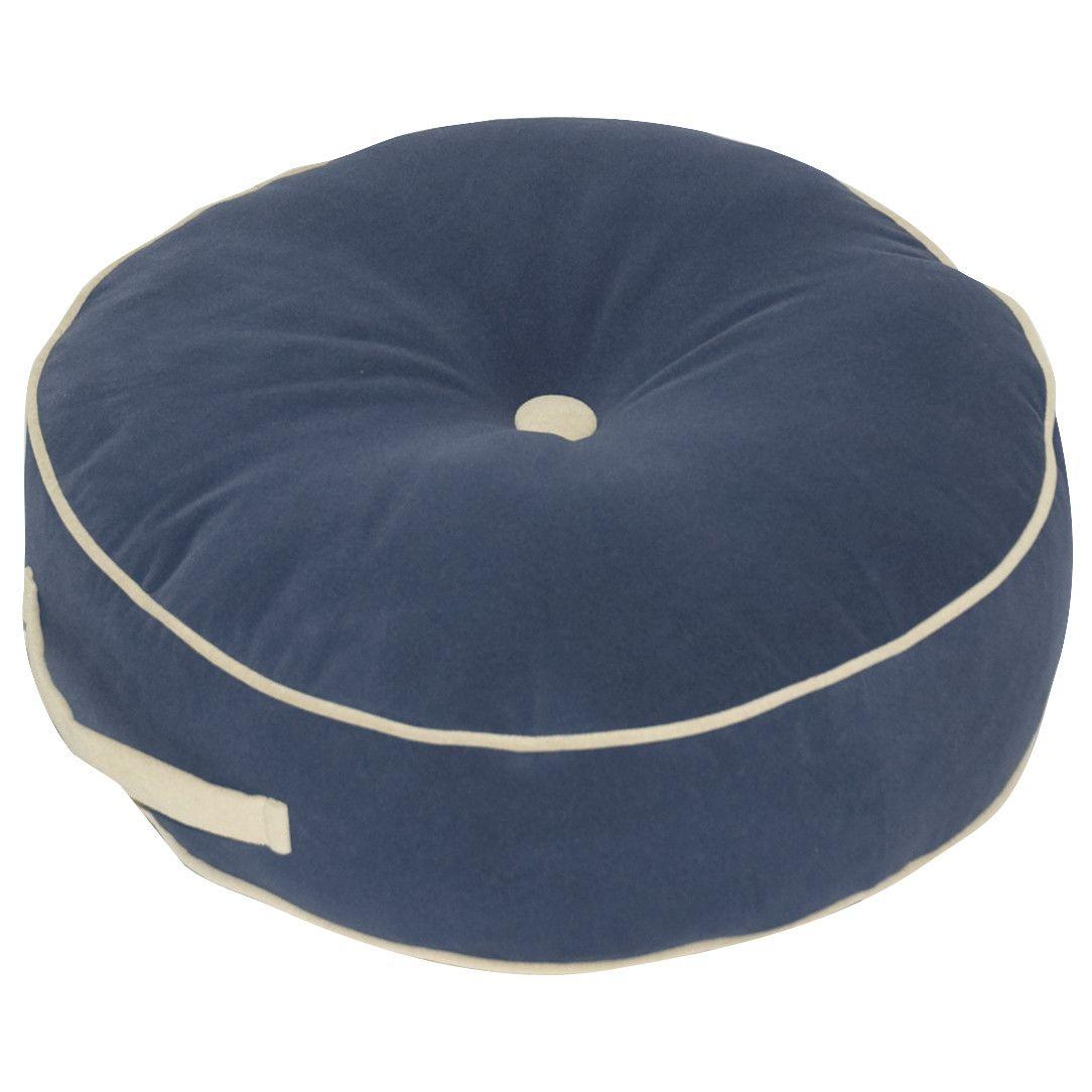 Hyatt Microfibre Floor Pillow Round Floor Pillow Floor