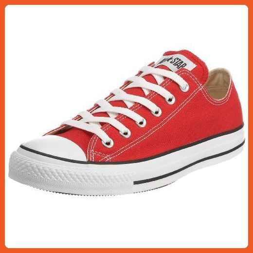 41ffc5988ce4 Converse All Star Ox Shoes - Red - UK 5   US Mens 5   US Women 7   EU 37.5  - Sneakers for women ( Amazon Partner-Link)