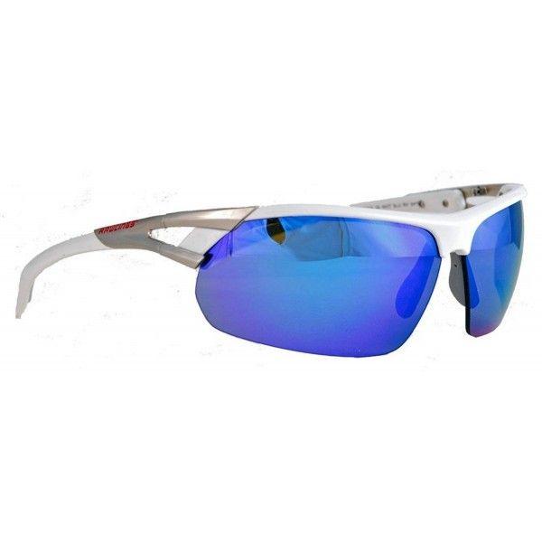 2f3b7c9e513 28 SPT Unisex Adult Sport Sunglasses Shades Wrap Blue Mirror ...