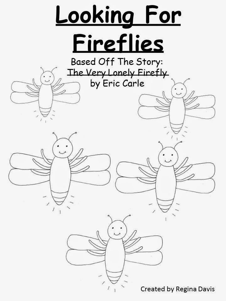 Free: Looking For Fireflies Easy Reader based on Eric Carle\'s The ...