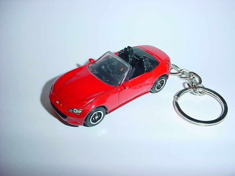 RED NEW MX5 ROADSTER keychain keyring for Mazda Eunos