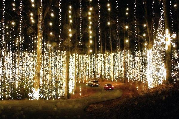 Fantasy In Lights Callaway Gardens Pine Mountain Ga Christmas N S Carolina Georgia And