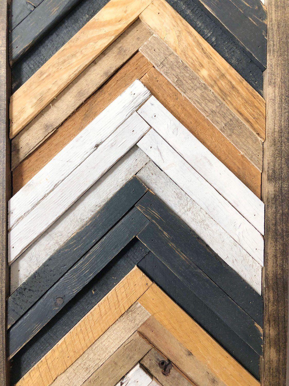 Geometric Chevron Wood Wall Art Decor 24in X 10in Etsy Wood Wall Art Decor Rustic Wood Wall Art Wood Wall Art