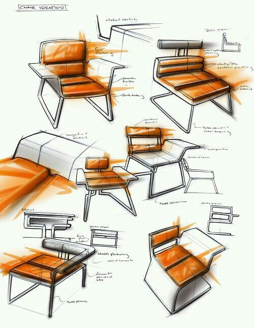 Pin By Andres Gamboa On Grasshopper Furniture Design Sketches Industrial Chair Design Chair Design