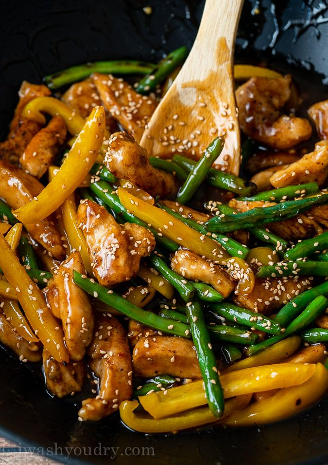 Photo of Honey Sesame Chicken Stir Fry