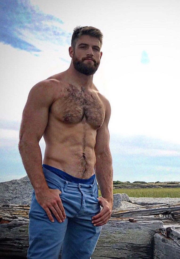 Pin on beefy hairy men
