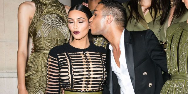 Olivier Rousteing Reveals Why Kim Kardashian Is His Ultimate Muse  - HarpersBAZAAR.com