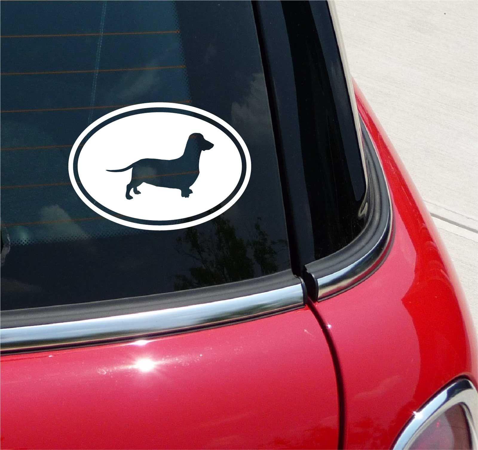 1 95 Dachshund Dachshunds Doxie Dog Graphic Decal Sticker Art Car Wall Euro Oval Ebay Home Garden Sticker Art Car Stickers Vinyl Decal Stickers [ 1505 x 1600 Pixel ]