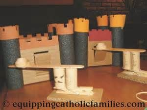 castle and catapult craft! - Equipping Catholic Families