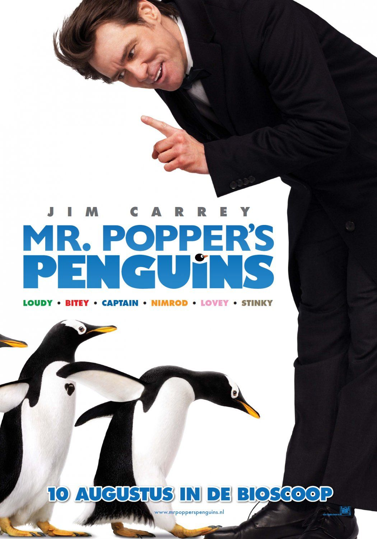 Mr Popper S Penguins Penguins Kid Movies Disney Mr Popper S