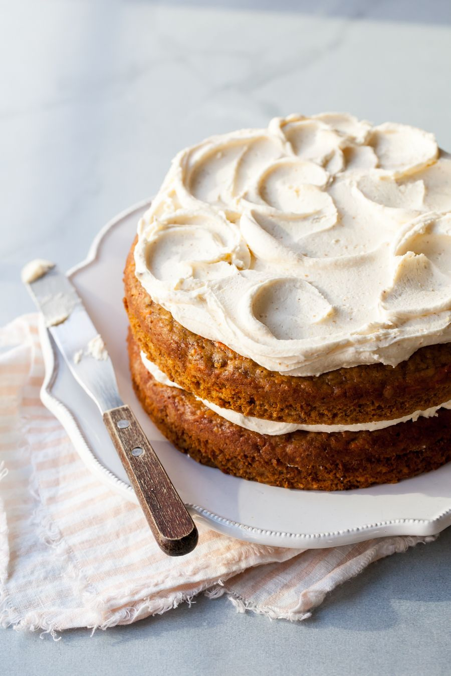 The Best Carrot Cake Recipe With Brown Butter Frosting -8626