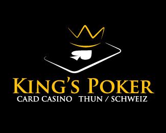 King S Poker By Chungdha Casino Logo Poker Logo Design