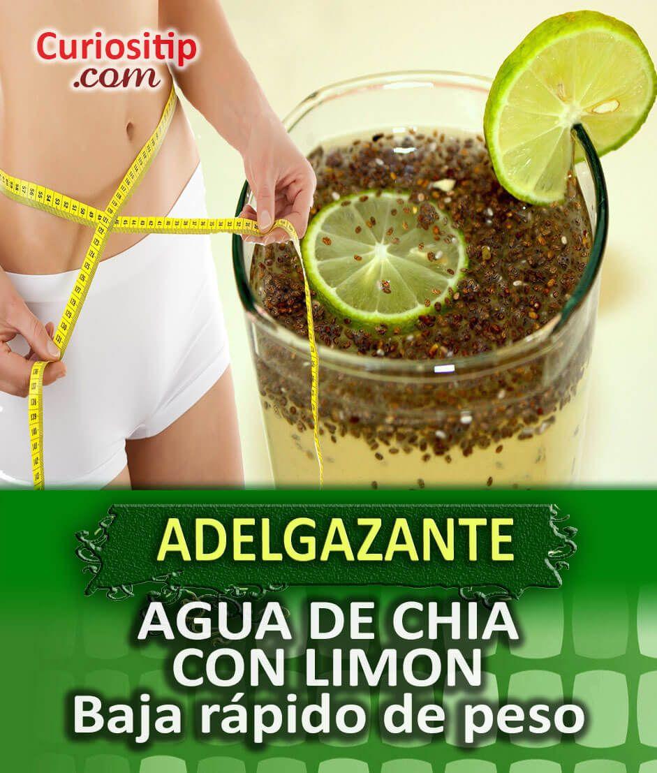 como bajar de peso con limon y agua