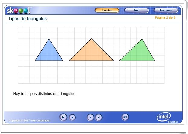 Tipos De Triángulos Según Sus Lados Aplicación Interactiva De Geometría De Primaria Tipos De Triangulos Triangulos Segun Sus Lados Triangulos
