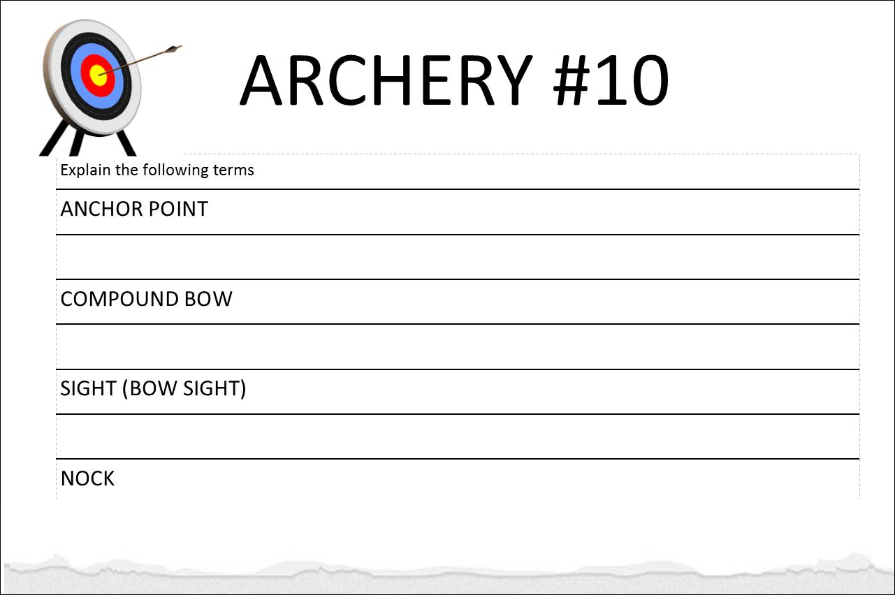 Ahg Badge Help Archery 10