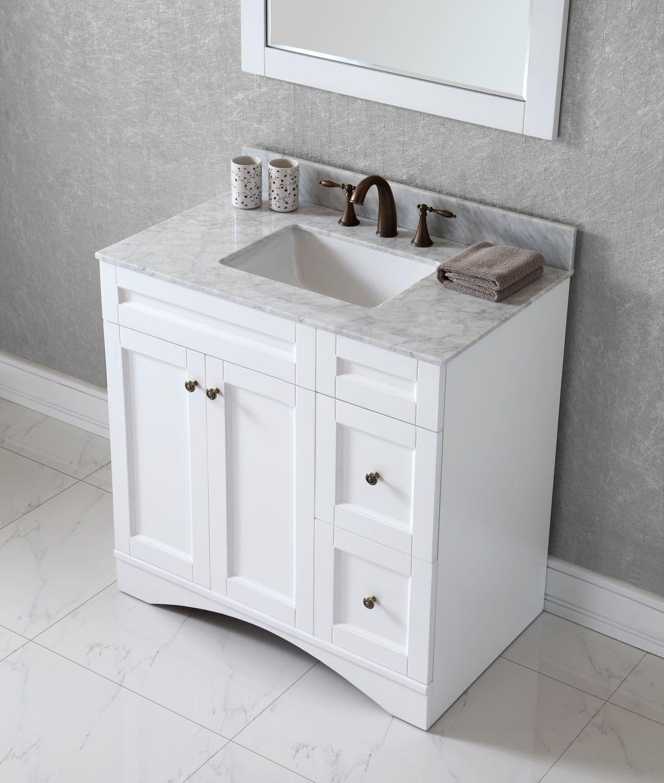 Virtu Usa Elise 36 Bathroom Vanity Base Bathroom Vanities