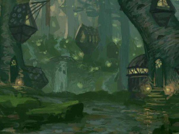 fantasy forest village - Google Search | Fantastical ...