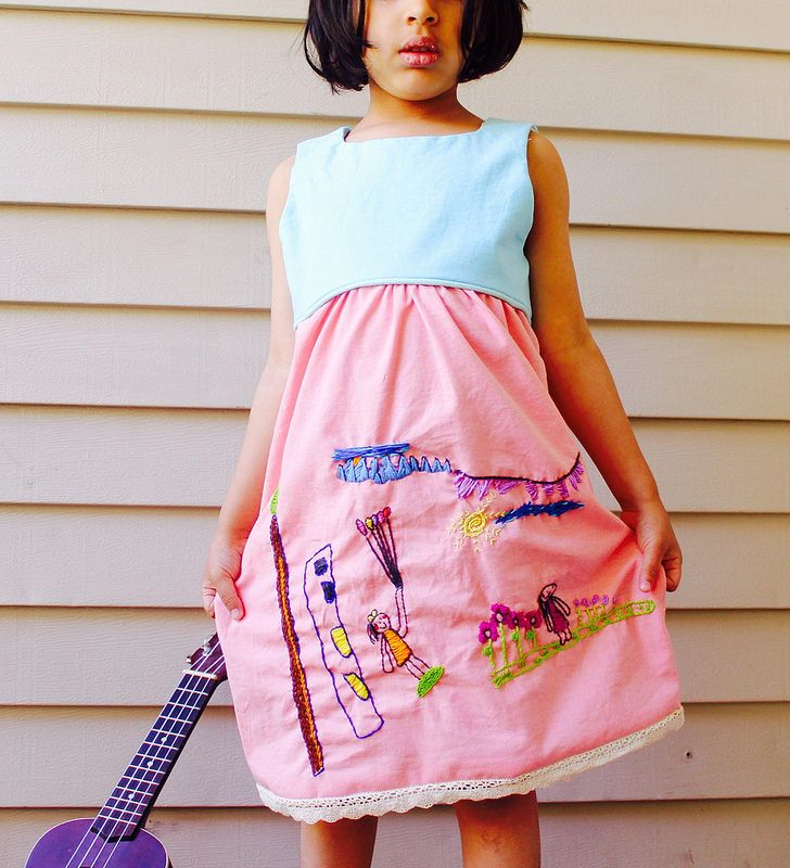 Playtime dress hand Modified Playtime Dress | by alittlepaperboat