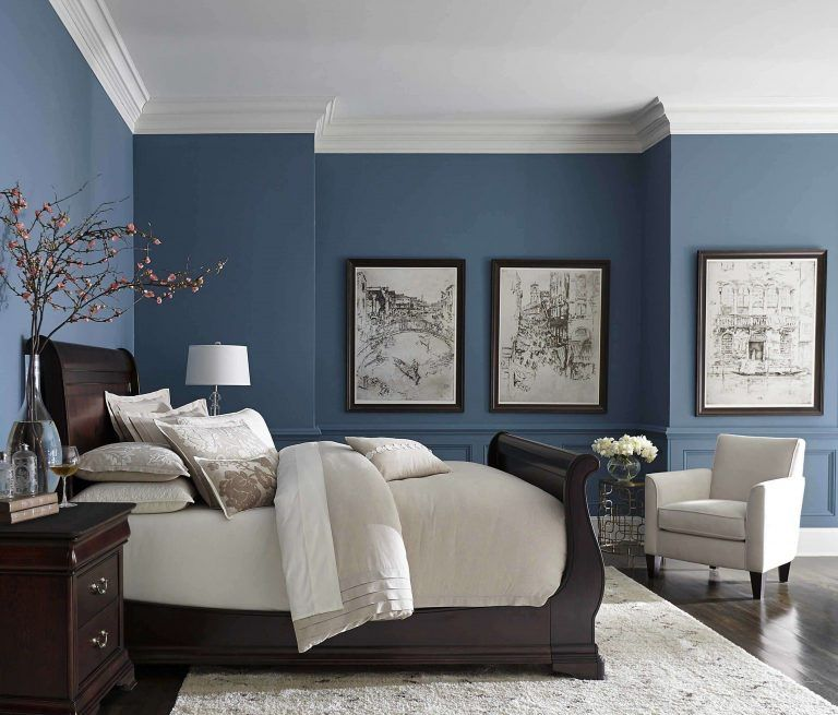 Pin On Painting For Bedroom Idea S Bedroom decorating ideas blue