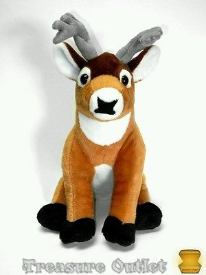 Wild Republic Stuffed Plush Whitetail Deer Buck 15in