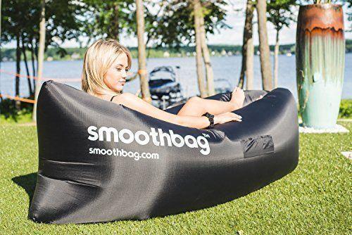 amazon     smoothbag premium inflatable lounger sofa   banana chair hammock for camping amazon     smoothbag premium inflatable lounger sofa   banana      rh   pinterest