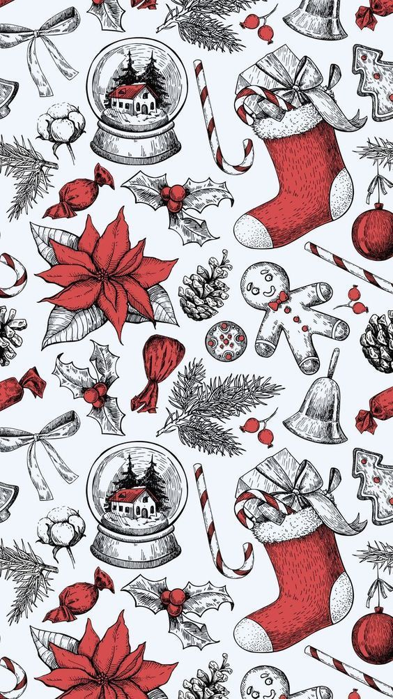 Christmas wallpapers for iPhone - free to download - Miss M.V.