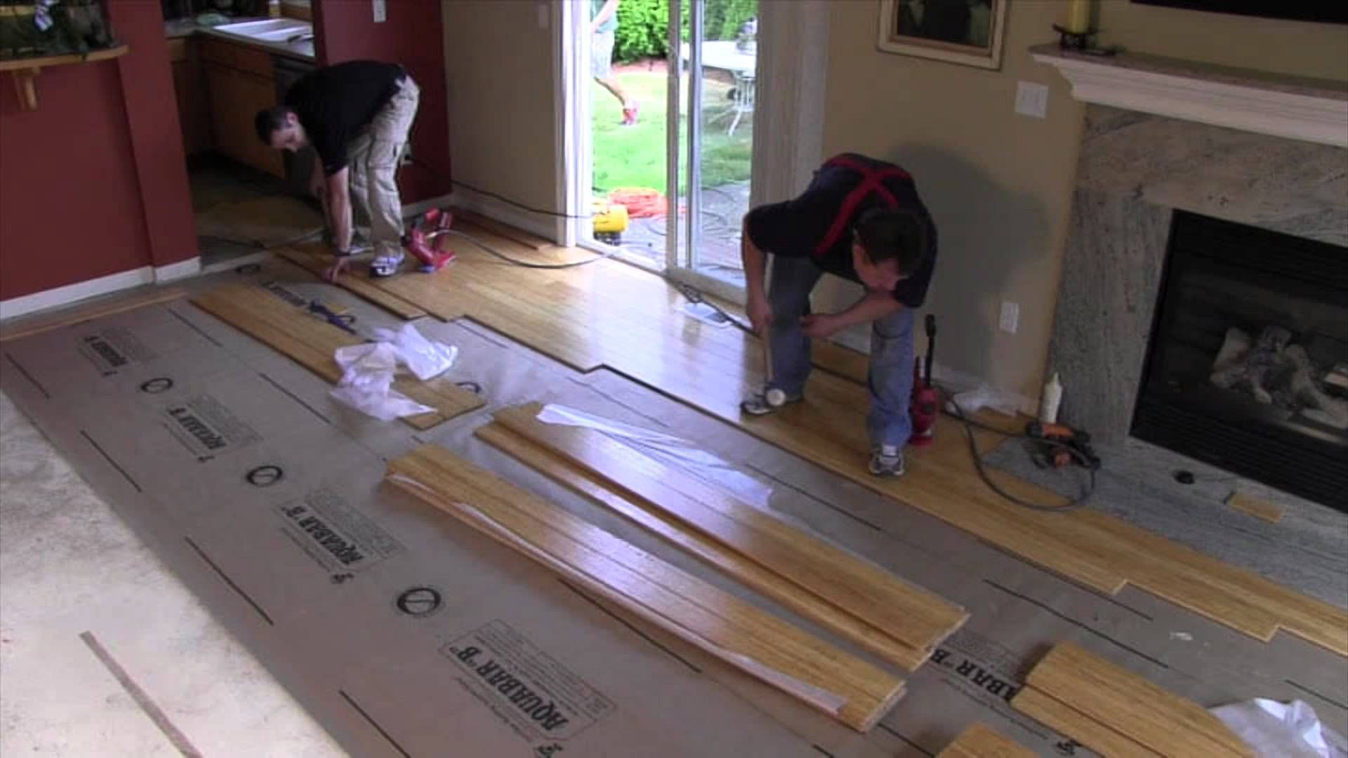 Nail Down Installation Strand Woven Bamboo In 2020 Bamboo Flooring Bamboo Flooring
