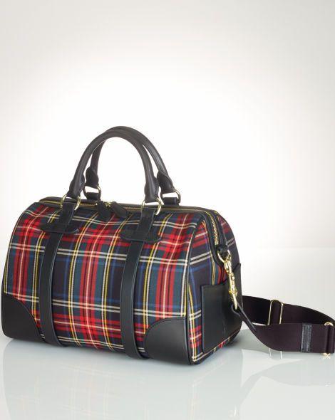 Medium Tartan Duffel Bag - Polo Ralph Lauren Hobos   Shoulder Bags -  RalphLauren.com b917f340444a9