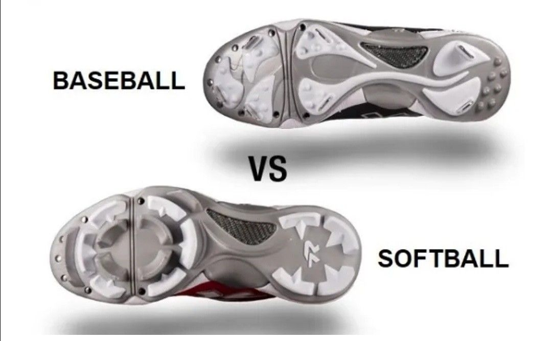 What Is The Difference Between Football And Baseball Cleats Baseball Cleats Softball Cleats Softball