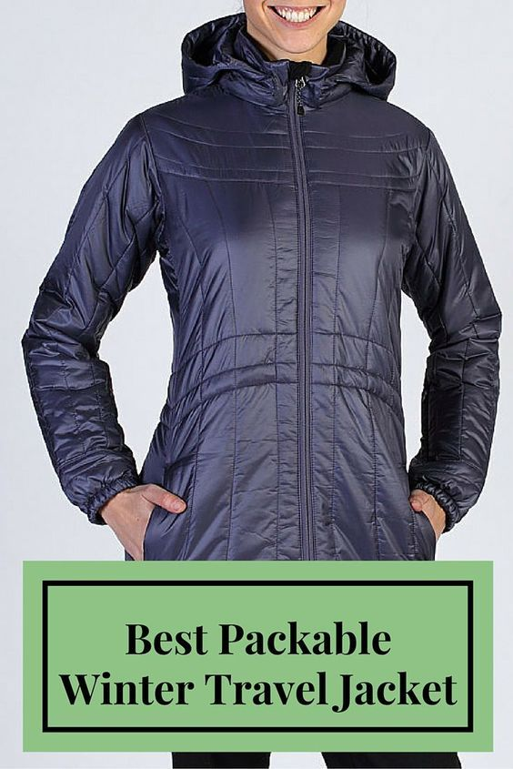 Best Packable Winter Travel Jacket For Women The Storm Logic Coat From Exofficio