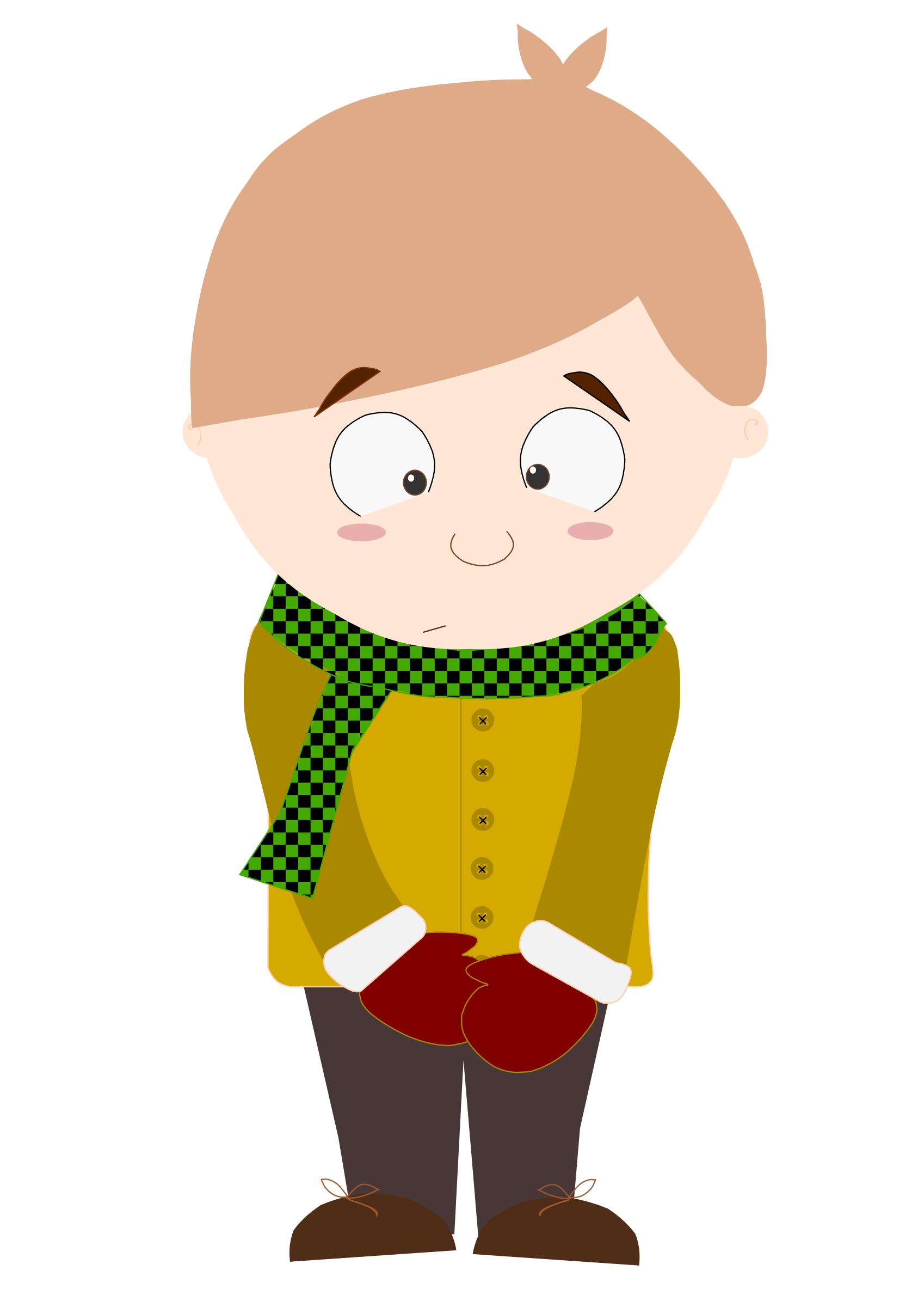 Cartoon shy kid (Animation 2) by @danjiro, This animation ...