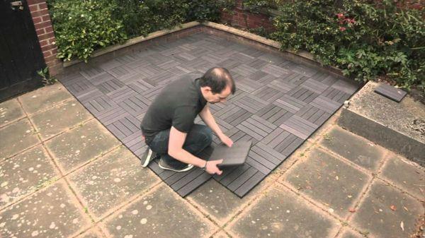 terrassenfliesen kombinieren sie sicherheit und sch nheit zusammen balkongestaltung. Black Bedroom Furniture Sets. Home Design Ideas
