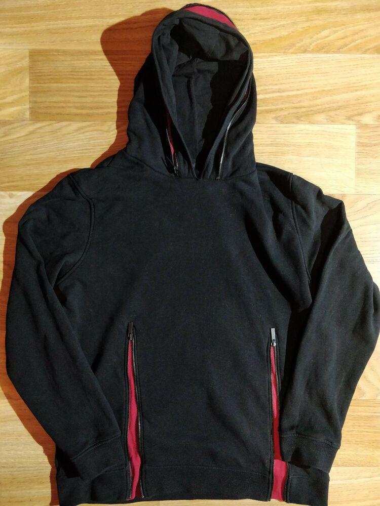 Adult Unisex Plain Fleece Hoodie Hooded Jacket Men/'s Zip Up Sweatshirt Jumper