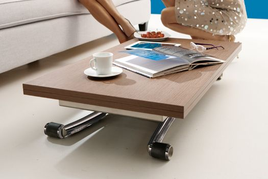 Mini Multifunctional Coffee Dining Table For Small Es Bonbon Compact Living