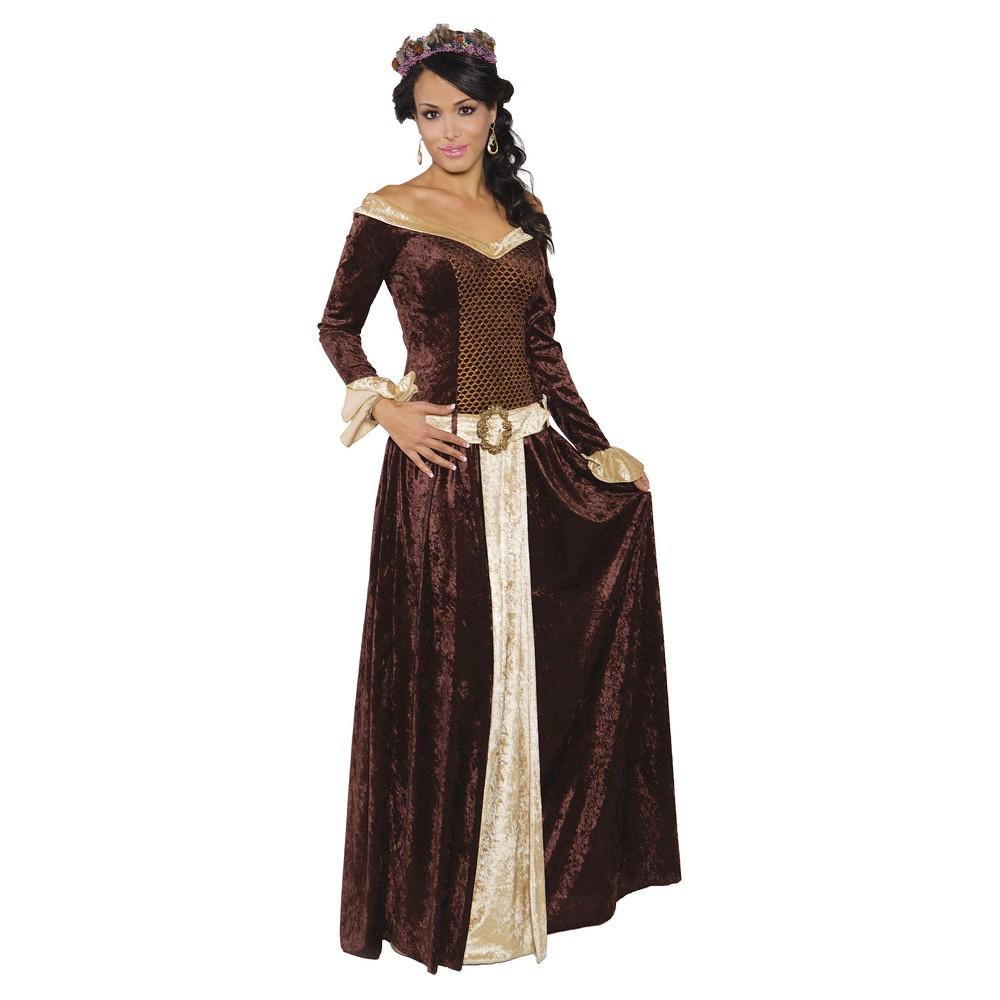 RENAISSANCE LADY VALVET GOWN WOMEN HALLOWEEN COSTUME MEDIUM//LARGE