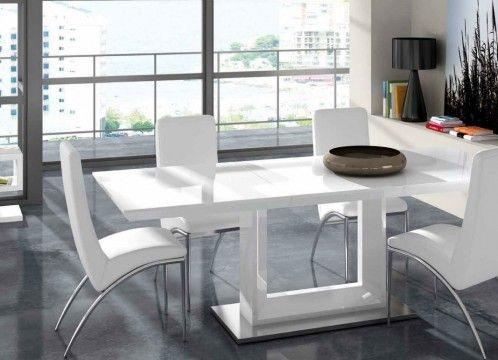 Packs conjunto Mesa comedor moderna-962-Alicia +4 sillas Roma | Lush ...