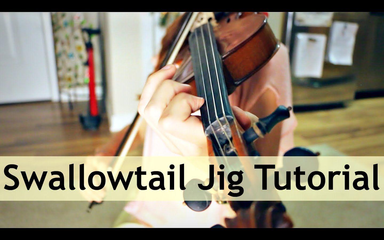 Swallowtail Jig Fiddle Tutorial Fiddle tunes, Violin