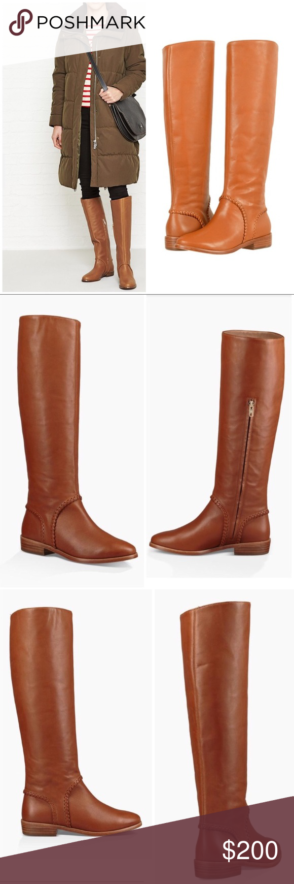 27f6c4c3b39 UGG Gracen Whipstitch Leather whipstitching marches a striking curve ...