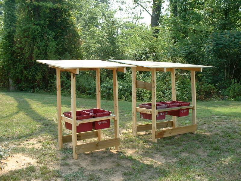 Building a trough feeder    - Georgia Outdoor News Forum