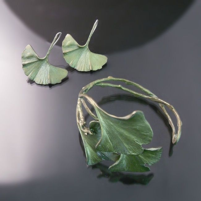 gingko+leaf+jewellery.jpg (650×650)
