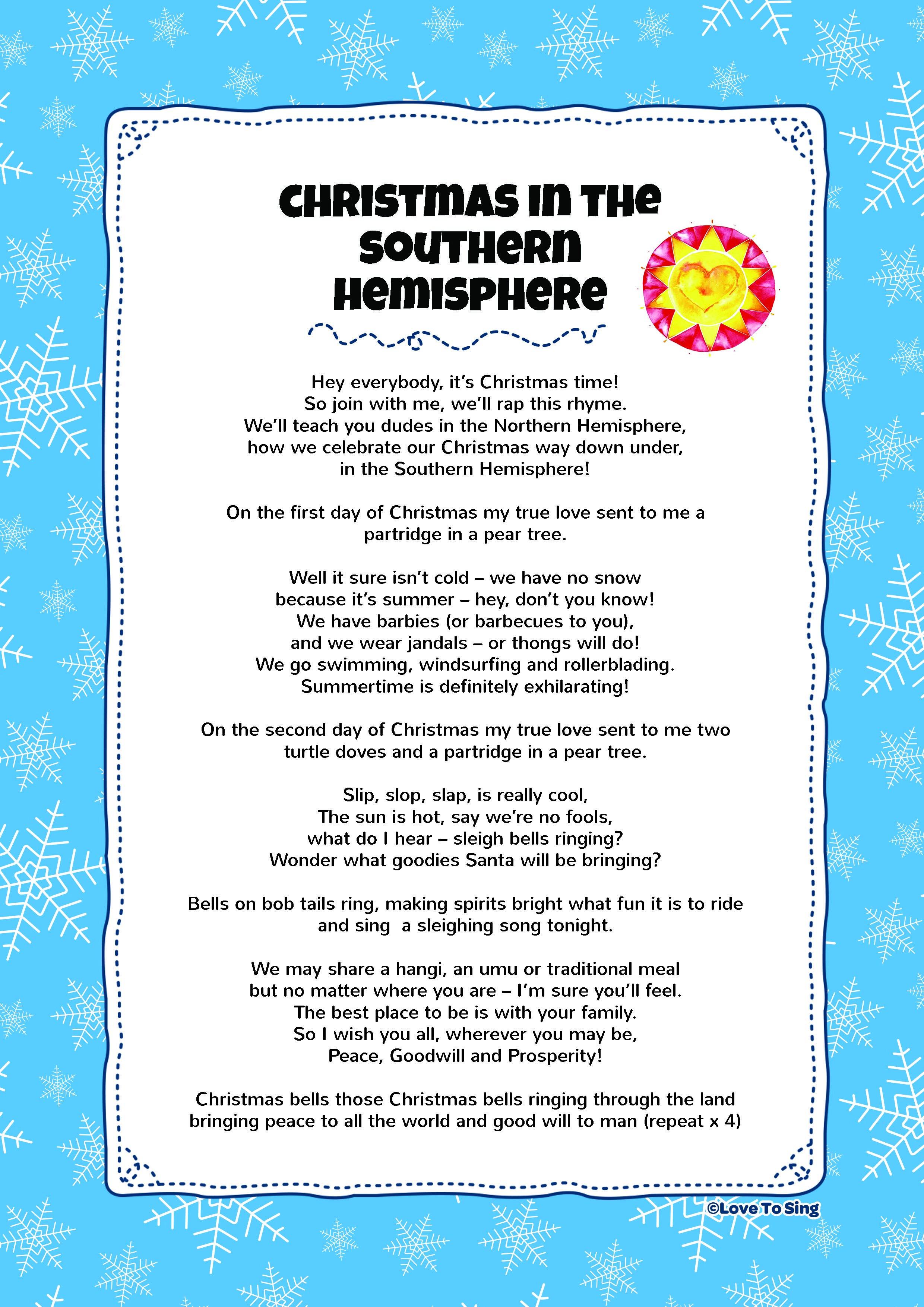 12 Days Of Christmas Lyrics Worksheet