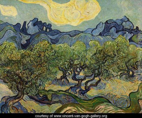 Vincent Van Gogh  Olive Trees