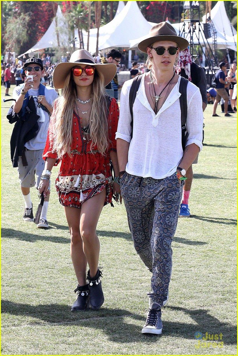 Vanessa Hudgens & Austin Butler at Coachella Weekend Two April 18,2014