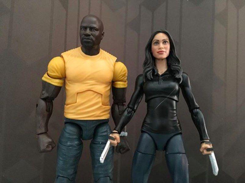 """Marvel Legends Netflix LUKE CAGE 6/"""" Figure Power Man Defenders Walmart Exclusive"""