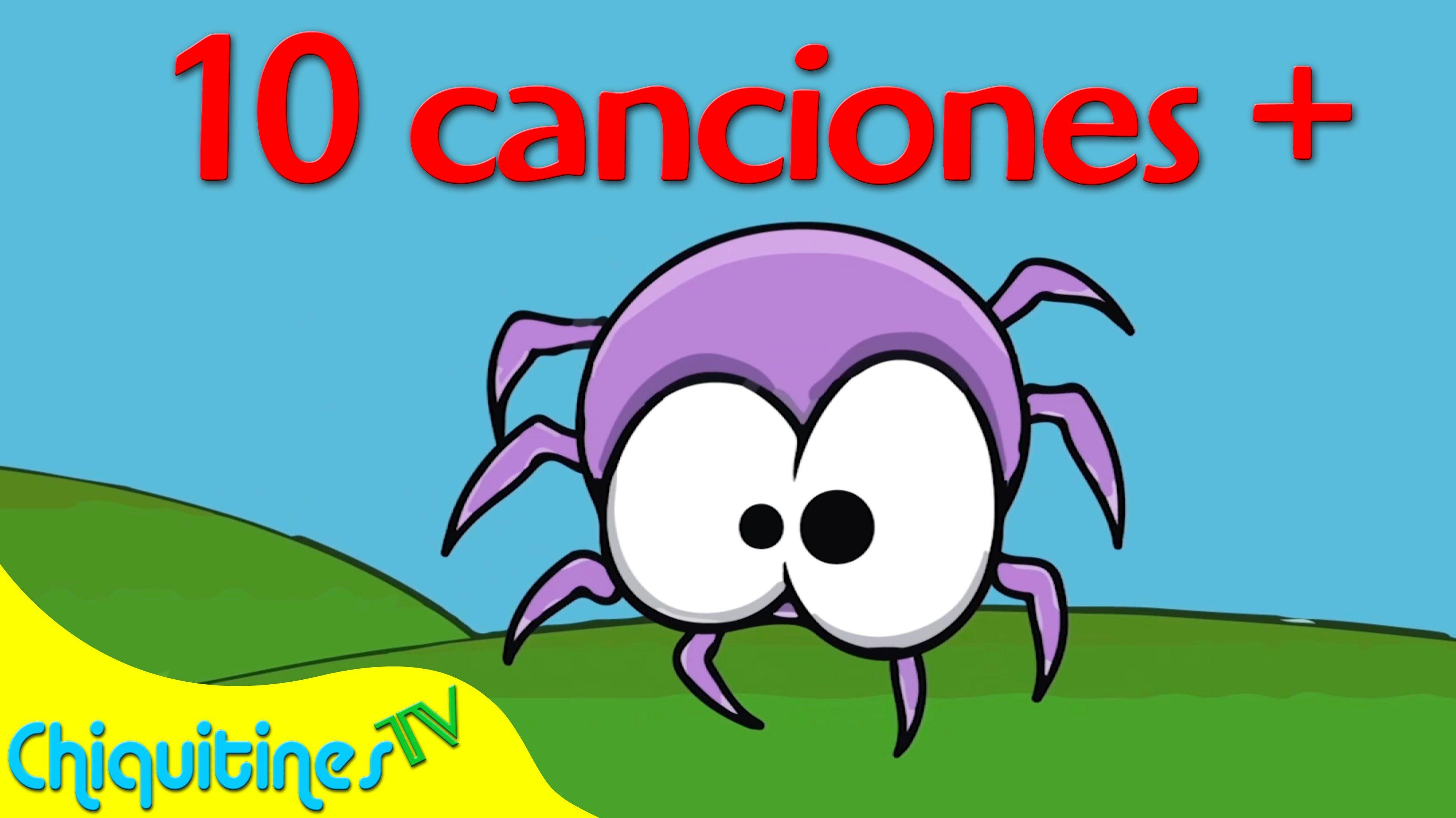 Witzy witzy araña y 10 Canciones Más - Canciones Infantiles ...